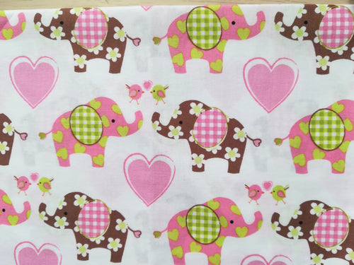 Beeswax Wrap - Elephants