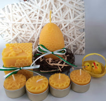 "Load image into Gallery viewer, Beeswax Candle Gift Set ""Spring"""