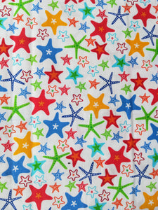 Small Beeswax Wrap - Starfish