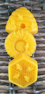 Pure natural Beeswax bars