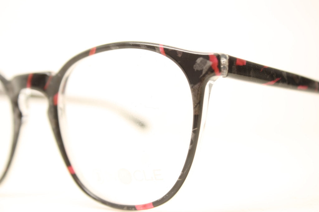 Perfectly Round Vintage Colorful Glasses Frames Unique 1980s Retro Eyeglass