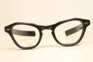 Black Cat Eye Eyeglasses Vintage Eyewear Retro Glasses Cat Eye Frames