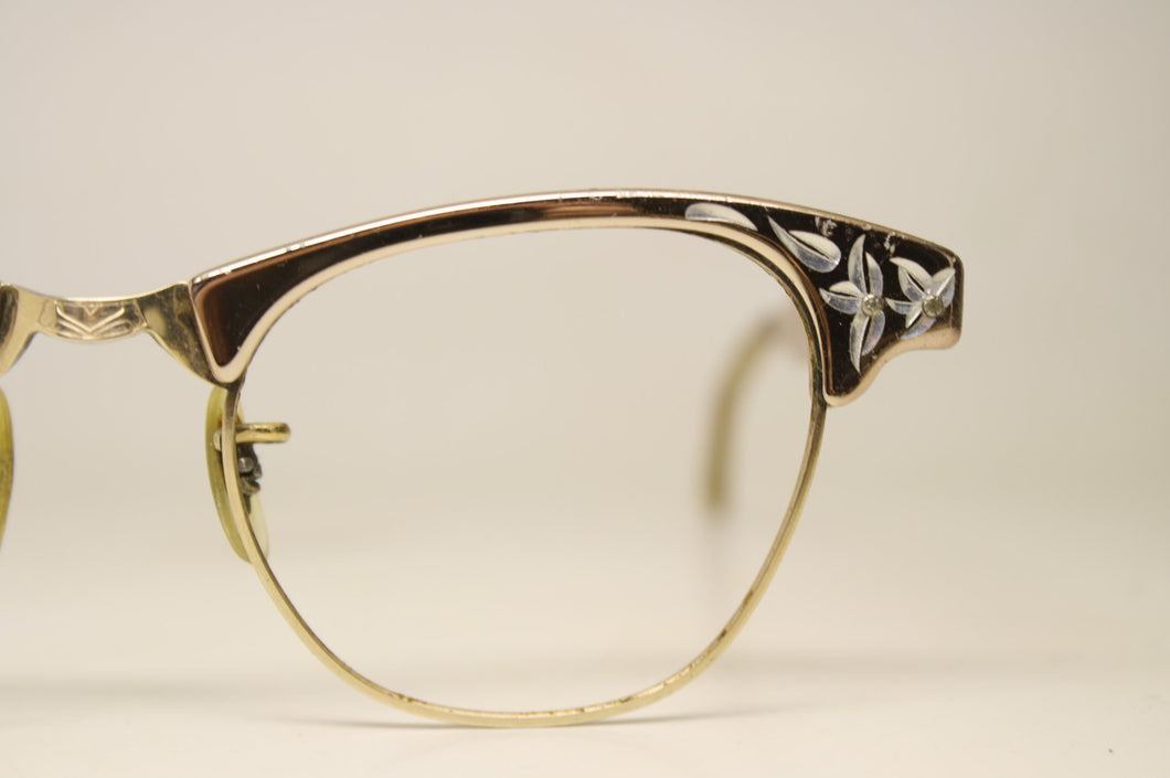 Vintage Artcraft Cat Eye Glasses 1/10 12k Gold filled vintage Eyewear Retro Glasses Catseye glasses vintage frames