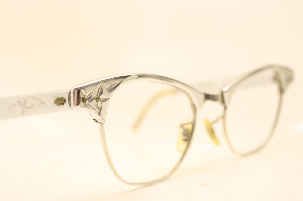 Small Cat Eye Glasses Vintage Art Craft  1/10 12k Gold filled vintage Eyewear Retro Glasses Catseye glasses vintage frames
