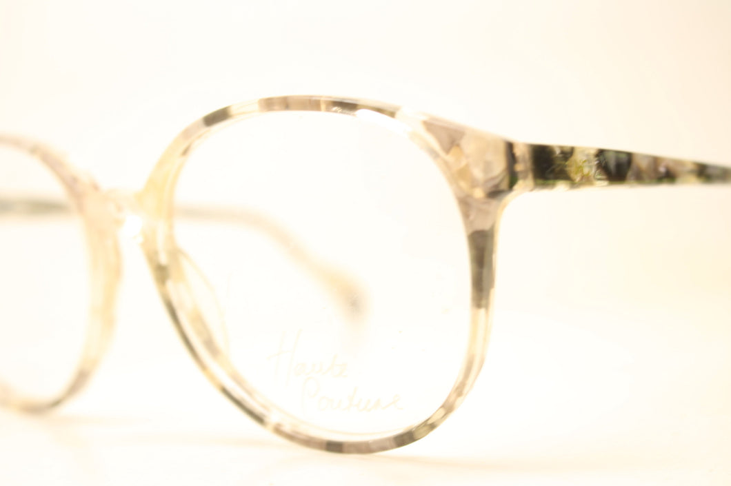 Unused Beige Pink Blue P3 Vintage Eyeglasses Haute Couture Retro New Old Stock Classic Eyeglasses NOS
