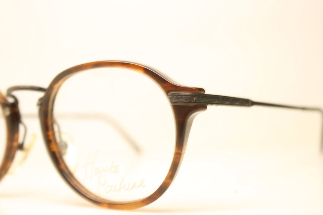 Unused Gold Colorful Vintage Eyeglasses Haute Couture Retro New Old Stock Classic Eyeglasses NOS