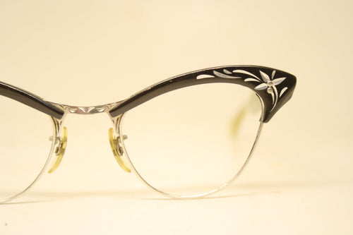 American Optical Cat Eye Eyeglasses Vintage Eyewear Small Retro Glasses Cat Eye Frames