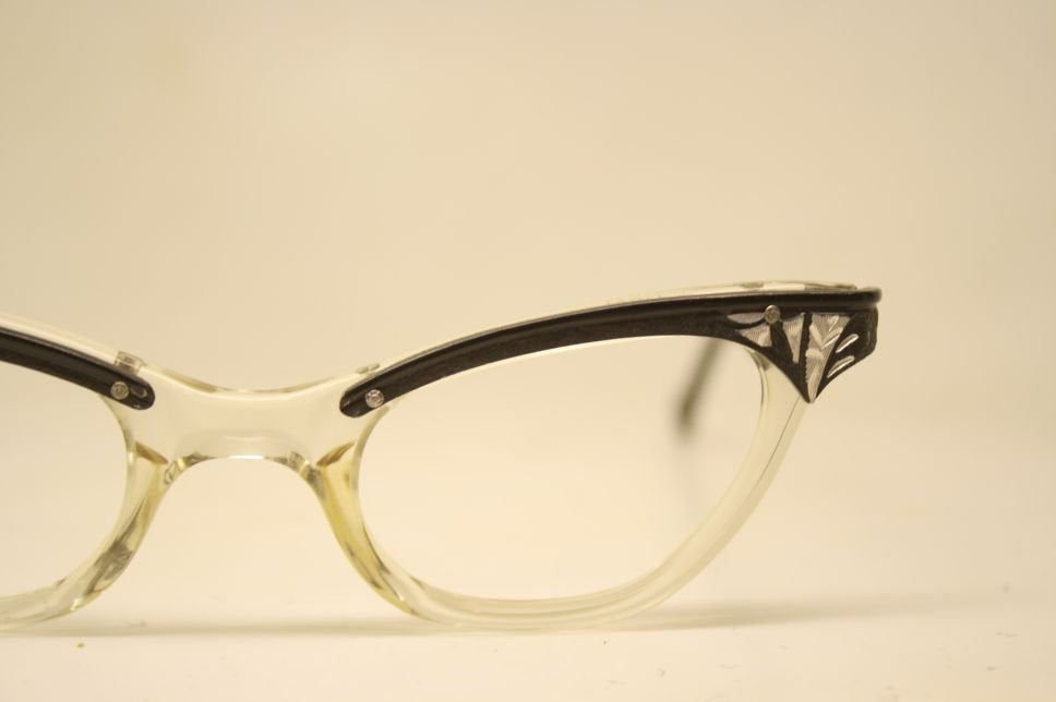 Cat Eye Glasses Vintage vintage Eyewear Retro Glasses Catseye glasses vintage frames