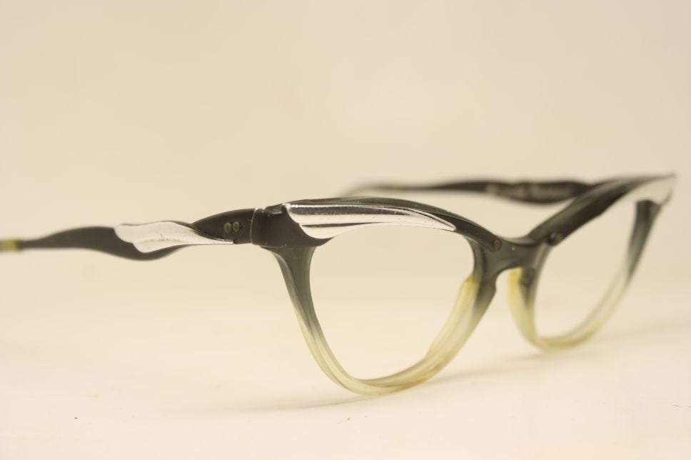 Combination Fade  Cat Eye Glasses Vintage vintage Eyewear Retro Glasses Catseye glasses vintage frames
