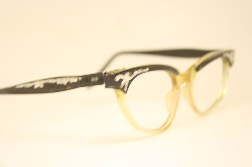 1960s frames combination Eyeglasses Vintage Eyewear Retro Glasses Cat Eye Frames