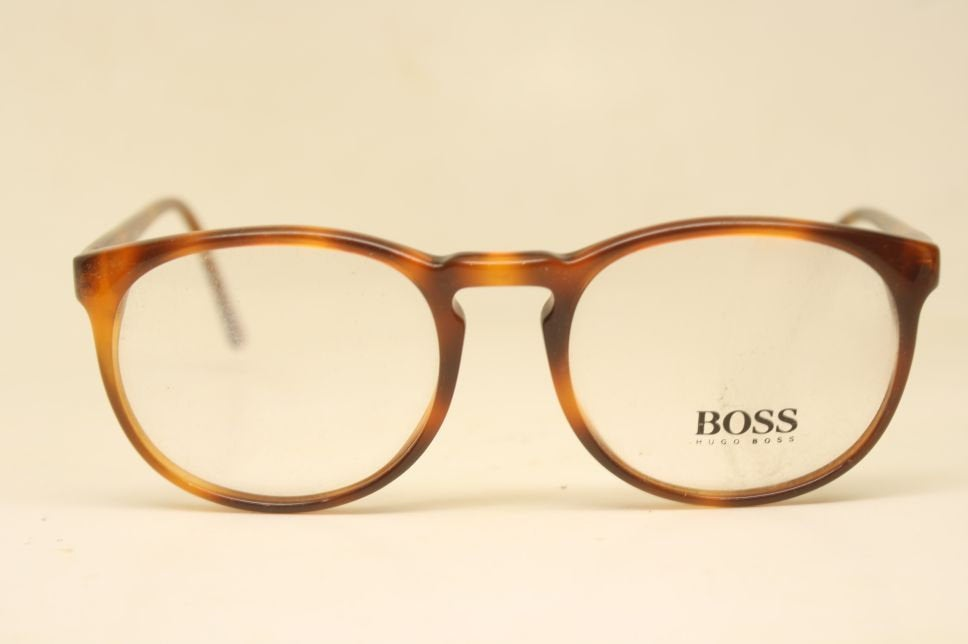 Vintage Glasses Frames Hugo Boss Tortoise Retro  1980's vintage eyewear NOS Deadstock Glasses