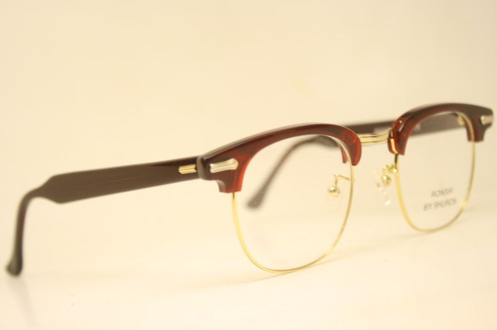 Vintage Style Glasses Shuron Browline 1950's Style Eyeglasses G Man Style Malcolm X glasses g man eyeglasses