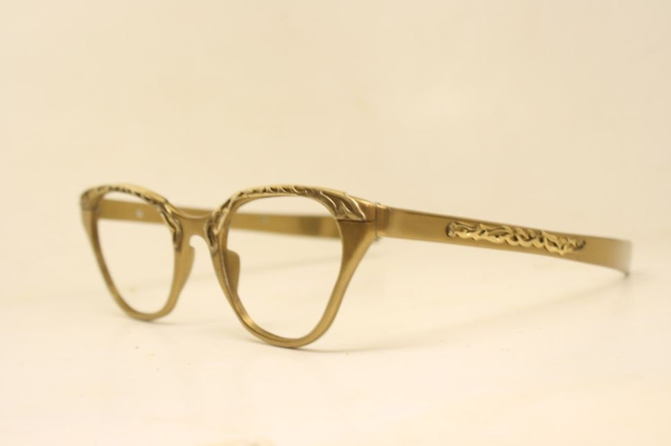 Cateye Glasses Tura gold cateye vintage Eyewear Retro Glasses Catseye glasses vintage frames