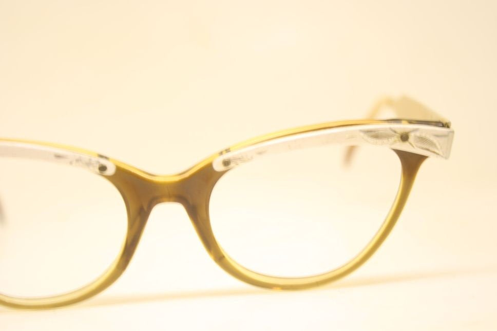1950s glasses combination Eyeglasses Vintage Eyewear Retro Glasses Cat Eye Frames