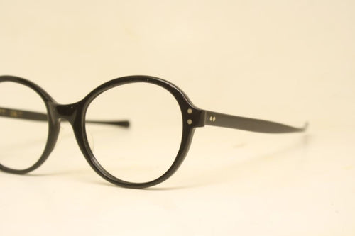 American Optical Contempora Black Vintage Eyeglasses Square 1960s Men Retro Glasses Frames Horn Rimmed Glasses Vintage Eyewear