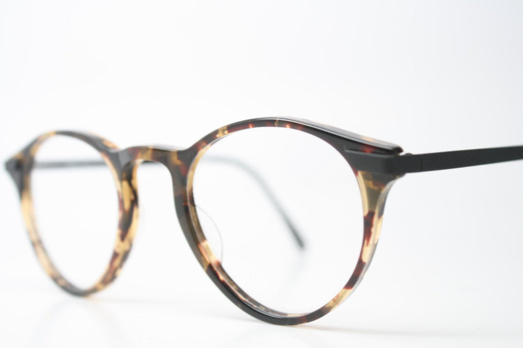 Unique Vintage Tortoise P3 Eyeglass Frames Retro Eyeglasses Stylish Eyewear