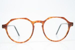 Vintage Eyeglass Frames Squire 33 Tortoise Retro Glasses P3 shaped 1980's vintage eyewear NOS Deadstock
