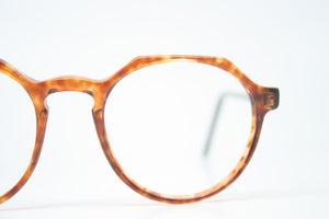 Vintage Eyeglass Frames Squire 37 Tortoise Retro Glasses P3 shaped 1980's vintage eyewear NOS Deadstock
