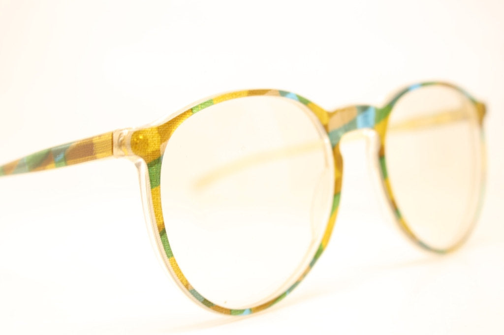 Glasses Retro Eyeglasses Fun Multicolored P3 Vintage New Old Stock Eyeglasses