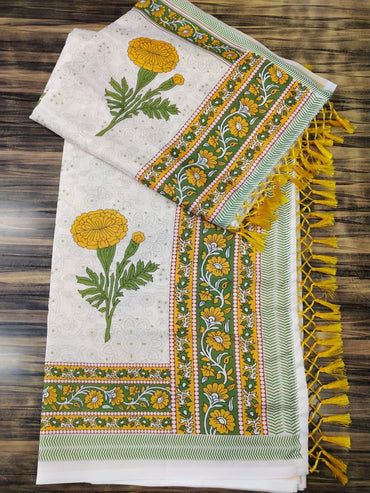 Pure art silk saree