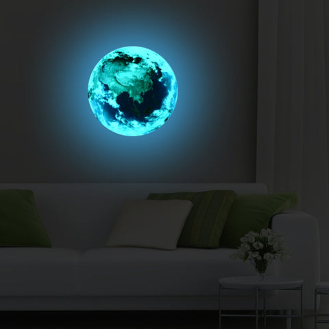 New 3D wall stickers for kids rooms Luminous bedroom decor