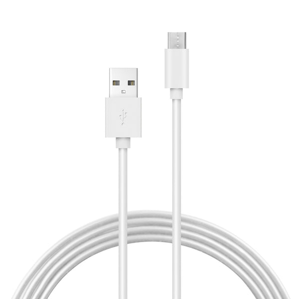 Type-C USB-C Sync and Charge Cable in White (Price Per 5 Units)