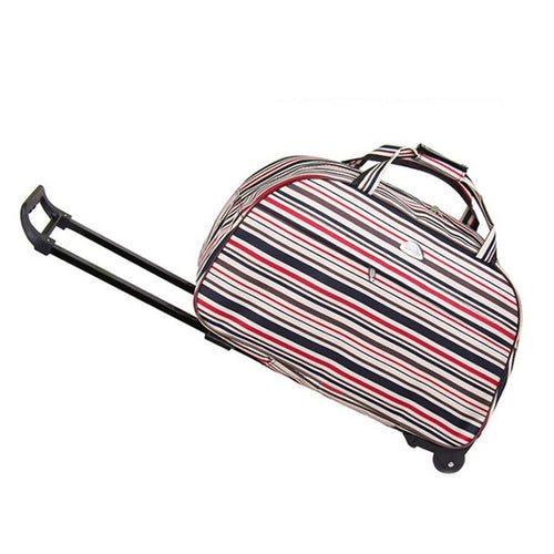 Rolling Luggage Travel Bag On Wheels