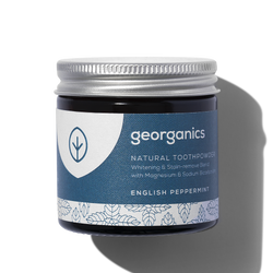Natural Toothpowder 60ml - English Peppermint