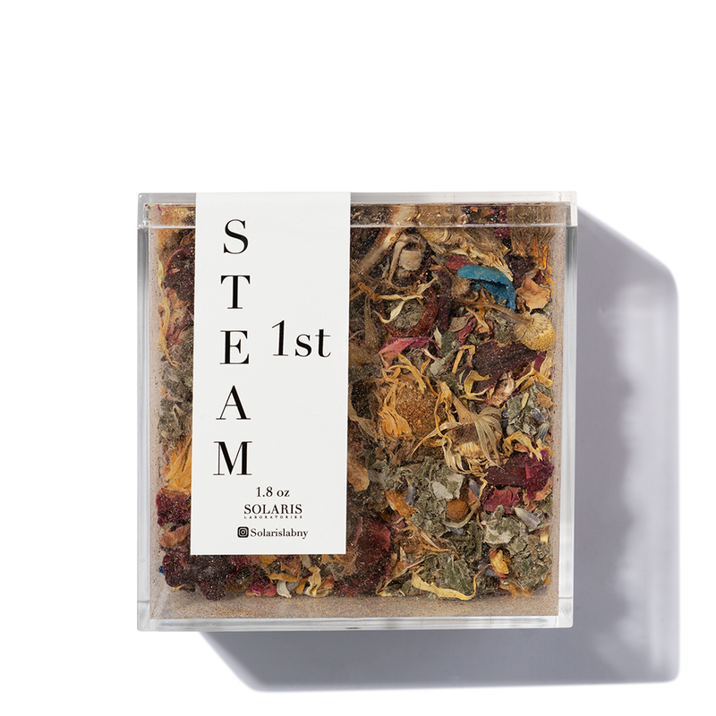 9 Herb Botanical Face Steam de la marque Solaris
