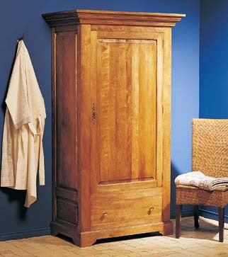 L'incontournable armoire traditionnelle