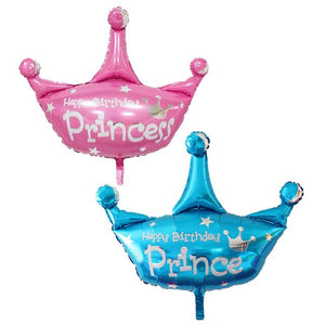 Crown balloon- Prince/ Princess