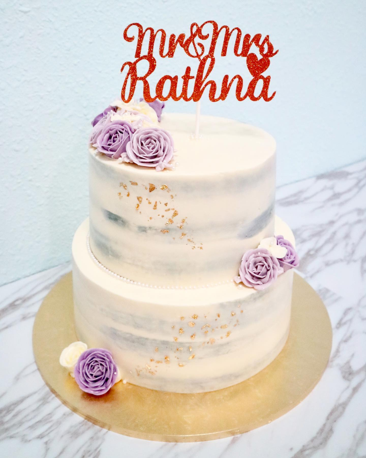 Customisable Cake Toppers (2 liners)