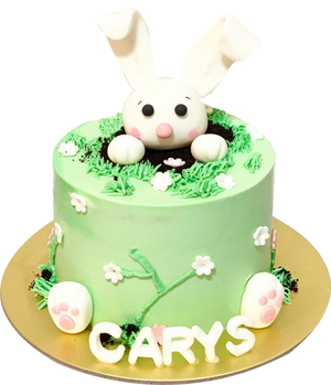 Bunny In A Cake