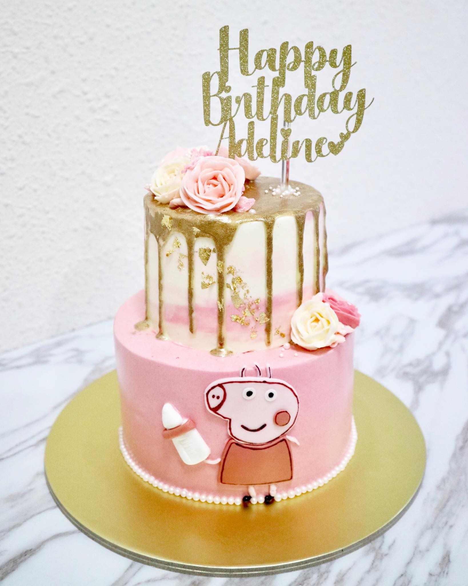 Customisable Cake Toppers (3 liners)