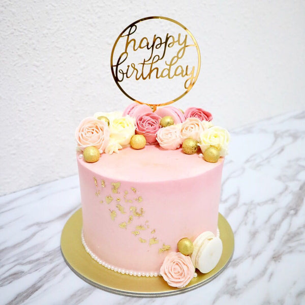 Remarkable Happy Birthday Round Acrylic Material Giebakes Funny Birthday Cards Online Barepcheapnameinfo