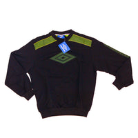 UMBRO SWEATER DEADSTOCK 1990 OG SPECIAL QUALITE LOGO CHEST - ALMACENESLÓPEZ