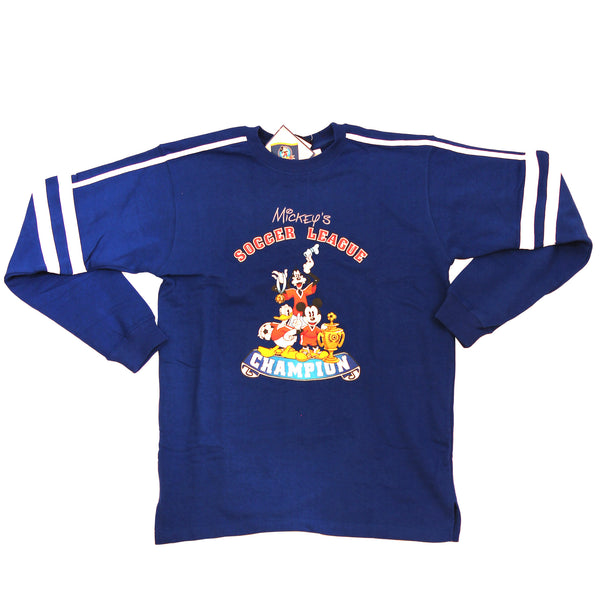 MICKEY N FRIENDS SOCCER SWEATER PREMIUM DEADSTOCK 1990 - ALMACENESLÓPEZ
