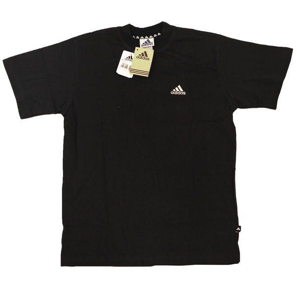 ADIDAS BASIC LOGO T SHIRT 1990 DEADSTOCK 100%COTTON - ALMACENESLÓPEZ