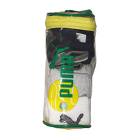 PUMA TENNIS SOCKS 3X PACK 1990 PLASTIC ZIP BAG OG DEADSTOCK - ALMACENESLÓPEZ
