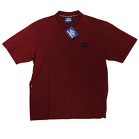 UMBRO  V NECK T SHIRT  PREMIUM COTTON DEADSTOCK 1990 - ALMACENESLÓPEZ
