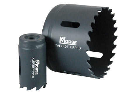 MORSE Carbide Tip Holesaw 1-3/8