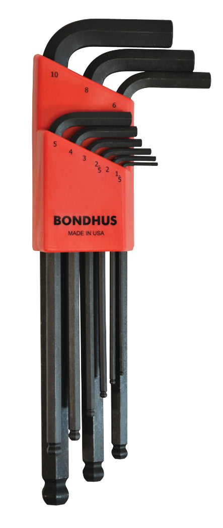 BONDHUS,BLX9MM , BALLWRENCH SET, 10999