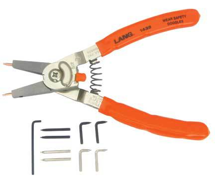 1435 Medium Quick Switch Pliers with Adjustable Stop and Tip Kit