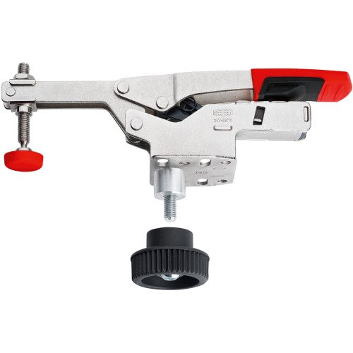 BESSEY, STC-HH50-T20 Horizontal toggle clamp with open arm and horizontal base plate with accessory set, BE102379