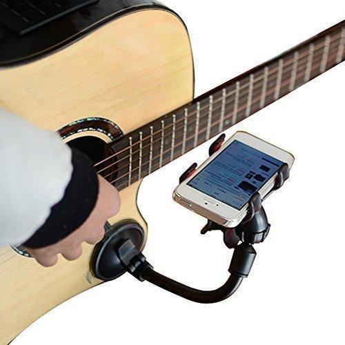 Universal Guitar Phone Holder 360