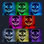 Purge LED Light Up Halloween Mask