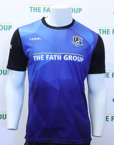 FC Edmonton 2017 Official Home Jersey (Royal)