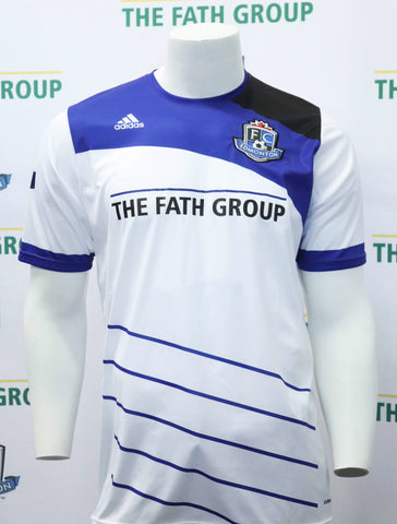 FC Edmonton 2016 Official Away Jersey (White)
