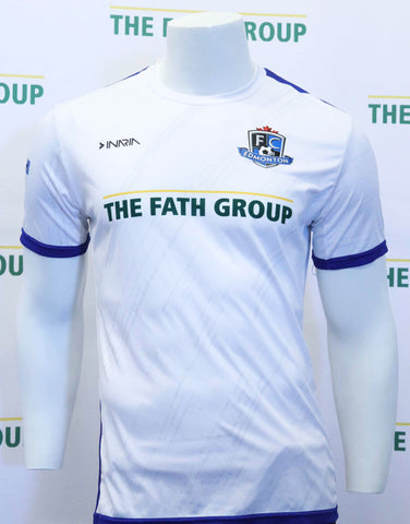 FC Edmonton 2017 Official Away Jersey (White)