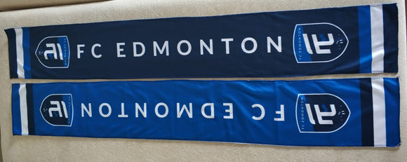 Limited Edition FC Edmonton Launch Scarf
